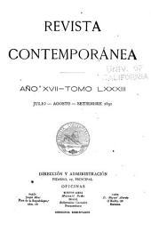 Revista contemporánea: Volumen 83