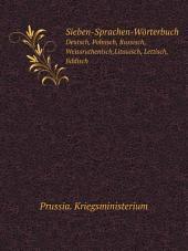Sieben-Sprachen-W?rterbuch