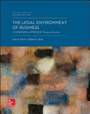 The Legal Environment of Business  A Managerial Approach  Theory to Practice PDF