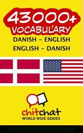 43000+ Danish - English English - Danish Vocabulary