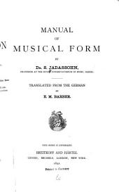 Manual of Musical Form