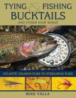 Tying and Fishing Bucktails and Other Hair Wings PDF
