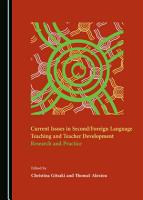 Current Issues in Second Foreign Language Teaching and Teacher Development PDF