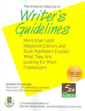 The American Directory of Writer s Guidelines PDF