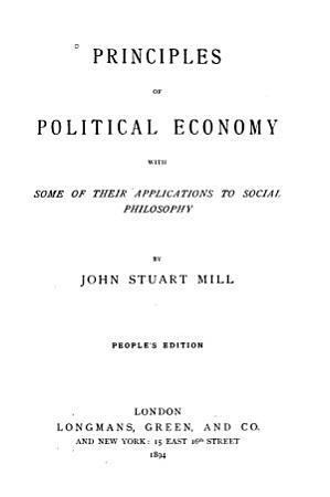 Principles of Political Economy PDF