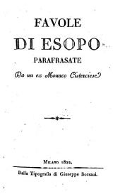 Favole di Esopo, parafrasate da un ex monaco Cisterciese