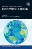 Research Handbook on Environmental Sociology