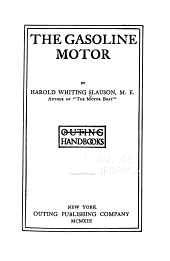 The Gasoline Motor