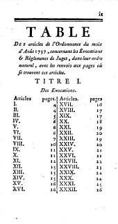 Nouveau commentaire sur les ordonnances des mois d'août 1669, & mars 1673: Ensemble sur l'Édit du mois de mars 1673 touchant les épices, Volumes1à2