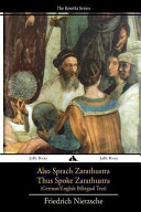 Also Sprach Zarathustra Thus Spoke Zarathustra Book PDF