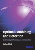 Optimal Combining and Detection PDF
