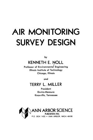 Air monitoring survey design