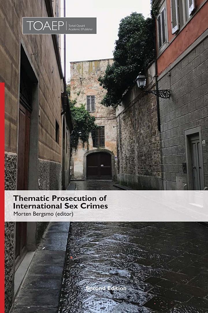 Thematic Prosecution of International Sex Crimes