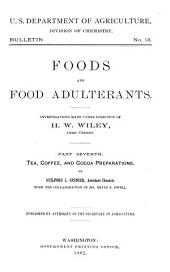 Foods and Food Adulterants: Volume 6