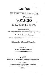 Abrégé de l'histoire générale des voyages: Volume29