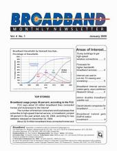 Broadband Monthly Newsletter