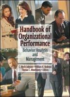 Handbook of Organizational Performance PDF
