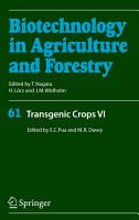 Transgenic Crops VI PDF