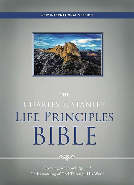 NIV  The Charles F  Stanley Life Principles Bible  Ebook PDF