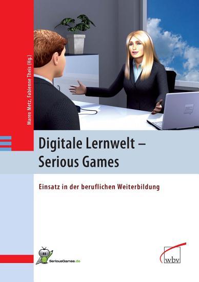 Digitale Lernwelt   SERIOUS GAMES PDF