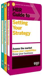 HBR Guides to Building Your Strategic Skills Collection (3 Books)