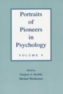 Portraits of Pioneers in Psychology PDF