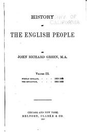 History of the English People: Volume 3