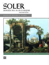 Sonata No. 84 in D Major: Early Advanced Piano Solo