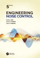 Engineering Noise Control  Fifth Edition PDF