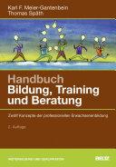 Handbuch Bildung  Training und Beratung PDF