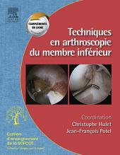 Techniques en arthroscopie du membre inférieur: Monographie SOFCOT