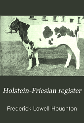 Holstein-Friesian Register: Volume 31, Part 2