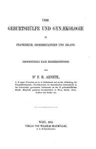 ber Geburtsh  lfe und Gynaekologie in Frankreich  Grossbritannien und Irland PDF