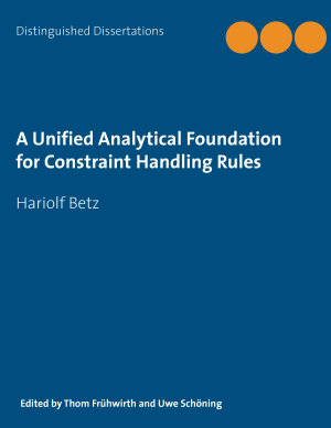 A Unified Analytical Foundation for Constraint Handling Rules
