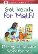 Get Ready for Math  PDF