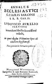 Annales ecclesiastici Caesaris Baronii ...