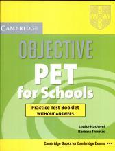 Objective Pet For Schools PDF