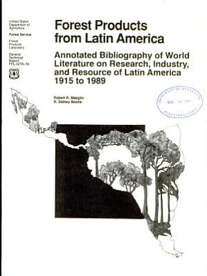 Forest Products from Latin America