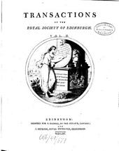 Transactions of the Royal Society of Edinburgh: Volume 2