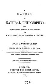 A manual of natural philosophy, by J.L. Comstock and R.D. Hoblyn