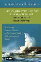 Information Technology Risk Management in Enterprise Environments PDF