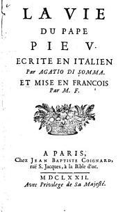 La vie du pape Pie V.