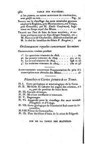 Annales des mines ou Recueil de memoires sur l'exploitation des mines et sur les sciences qui s'y rapportent: Volume9,Partie2