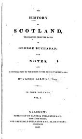 The History of Scotland: Volume 1