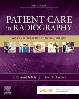 Patient Care in Radiography   E Book PDF