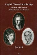 English Classical Scholarship PDF
