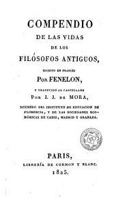 Compendio de las vidas de los filósofos antiguos
