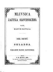 Mluvnica jazyka slovenského: Časť 2