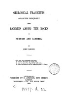 Geological Fragments Collected Principally from Rambles Among the Rocks of Furness and Cartmel PDF