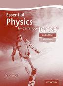 Essential Physics for Cambridge IGCSE   Workbook PDF